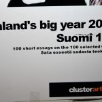 Matti Luostarinen, Cluster art, Finland's big year 2017. Suomi 100. 100 short essays on the 100 selected works. Sata esseetä sadasta teoksesta.