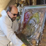 Restoration after vandalism