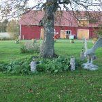 Vanharanta, yksitykohta puutarhasta