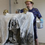 "Cluster art, Matti Luostarinen ""Memento mori"""