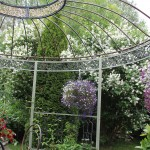 Cluster Art in garden, July 2014