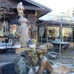 Matti Luostarinen. Cluster art garden. Finland's big year – Suomi 100.
