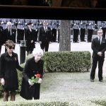 Matti Luostarinen. Cluster art. Mauno Koivisto, Finnish president. Funeral
