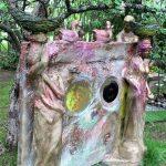 Matti Luostarinen. Cluster art garden. Suomi 100