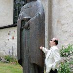 Matti Luostarinen. Cluster art. The history of surname, family name Luostarinen. Luostari=Cloister, Monastery, Convent, Religious  house