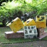 Matti Luostarinen. Cluster art. Cluster art garden. Finland's big year 2017 – Suomi 100