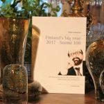 Matti Luostarinen. Cluster art. Finland's big year 2017 – Suomi 100.  100 short essays on the 100 selected works of prof. Matti Luostarinen. Sata esseetä sadasta teoksesta.