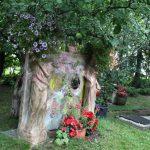 Matti Luostarinen. Cluster art. Cluster art garden