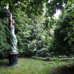 Matti Luostarinen. Cluster art. Cluster art garden 2017