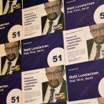 Cluster art, Matti Luostarinen, Municipal elections in 2017, Forssa Finland