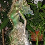 """Cluster art, Matti Luostarinen 2001, """"Mermaid and Plastic waste"""""""