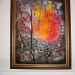 """Cluster art, Matti Luostarinen 1998: """"Aurora, Pair work number one"""""""