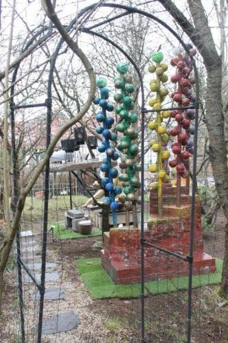 Matti Luostarinen. Cluster art garden.